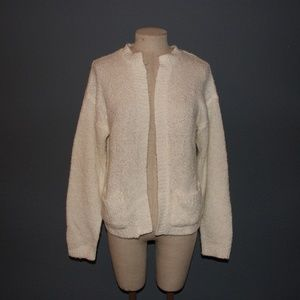 DIANE VON FURSTENBERG Vintage Cream Cardigan sz M
